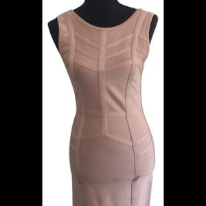 Nude Bebe Bandage Dress